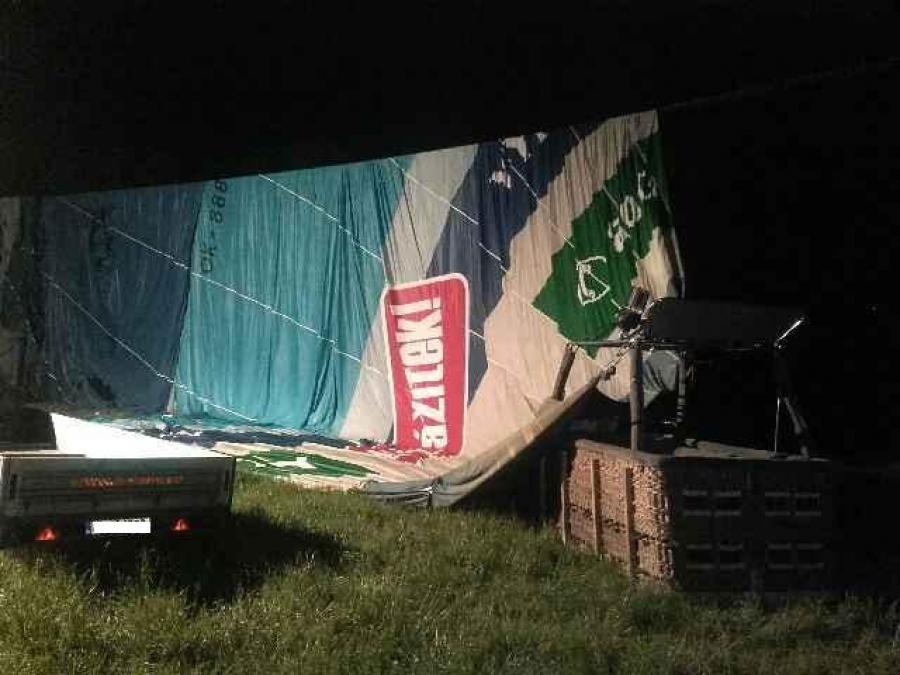 Nehoda teplovzdušného balóna, foto 3