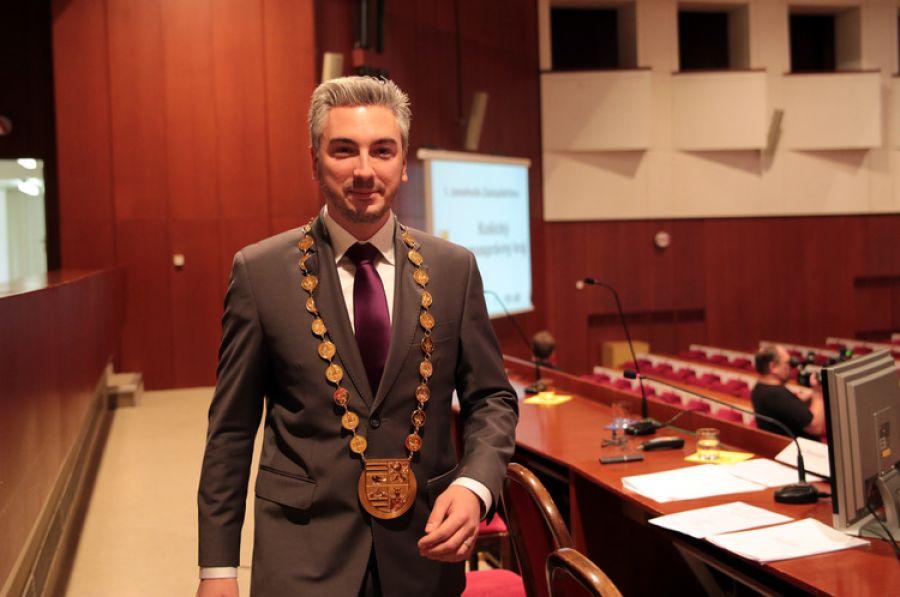 Nový župan KSK Rastislav Trnka sa ujal funkcie, foto 2