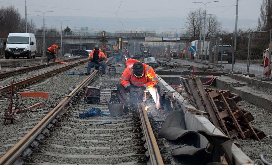 Práce na stavbe MET pokračujú podľa harmonogramu, foto 1