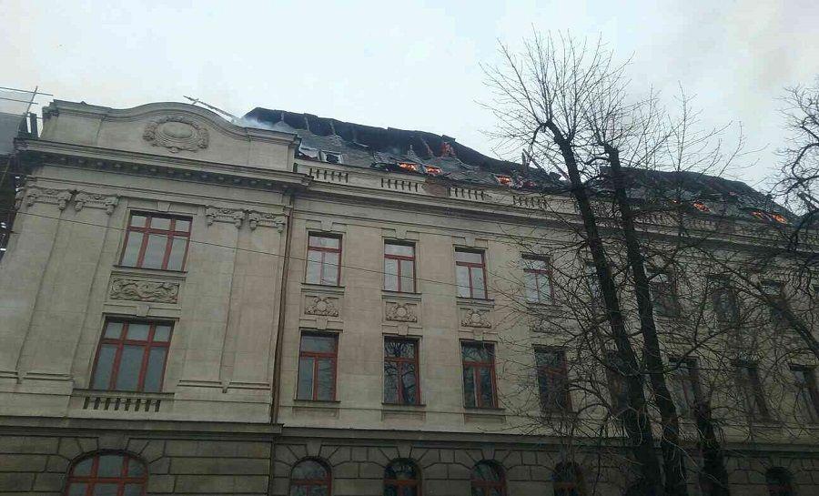 Požiar Daňového úradu v Košiciach, foto 8