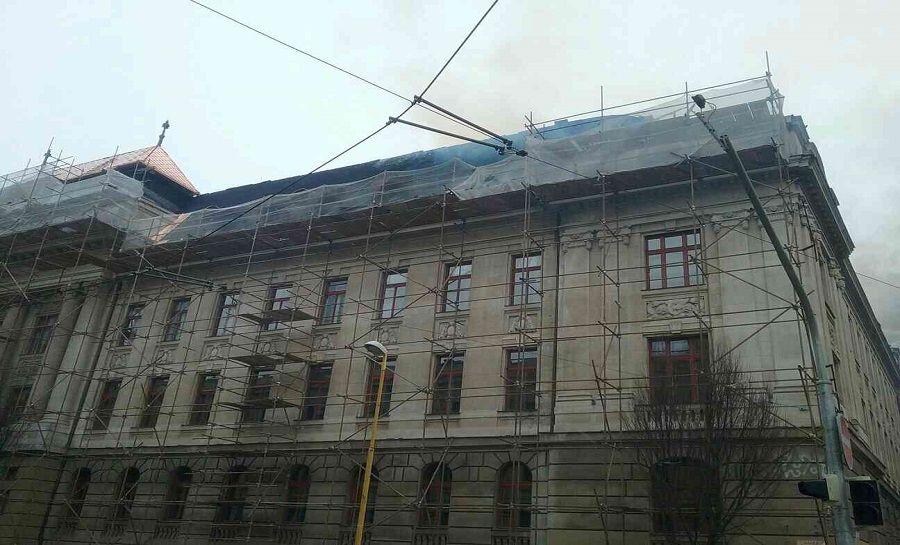 Požiar Daňového úradu v Košiciach, foto 9