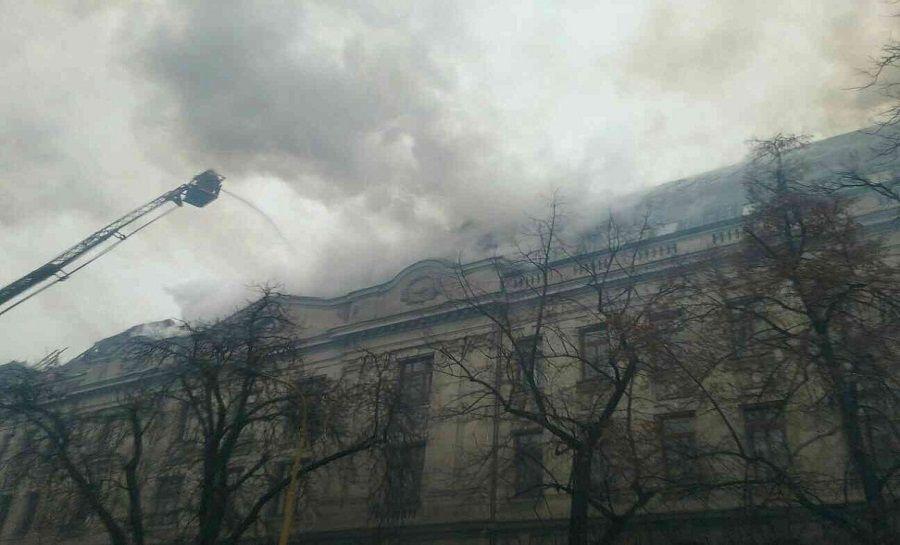 Požiar Daňového úradu v Košiciach, foto 10
