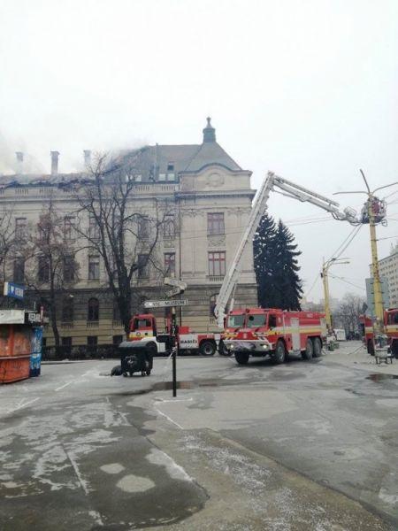 Požiar Daňového úradu v Košiciach, foto 7
