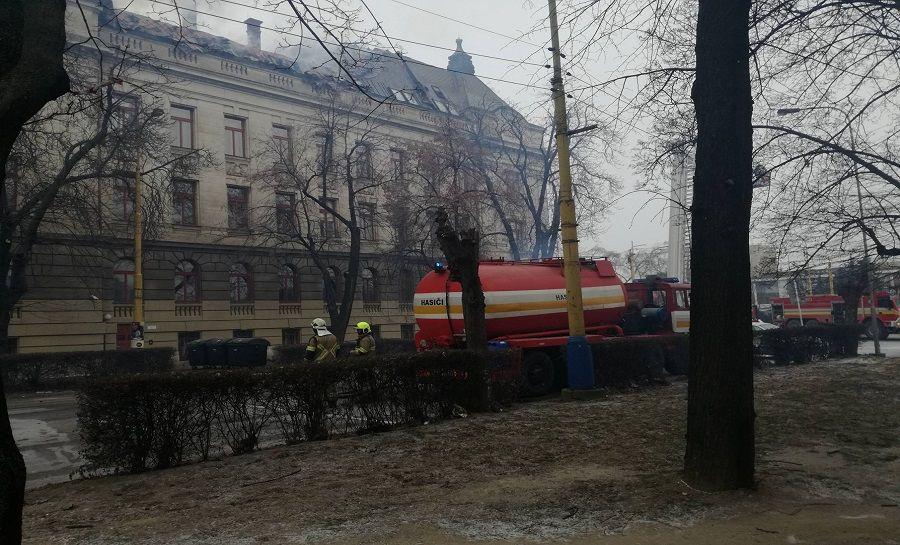 Požiar Daňového úradu v Košiciach, foto 6