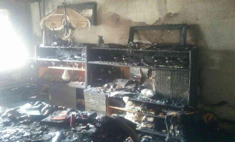 Požiar na Matuškovej ulici v Košiciach, foto 1