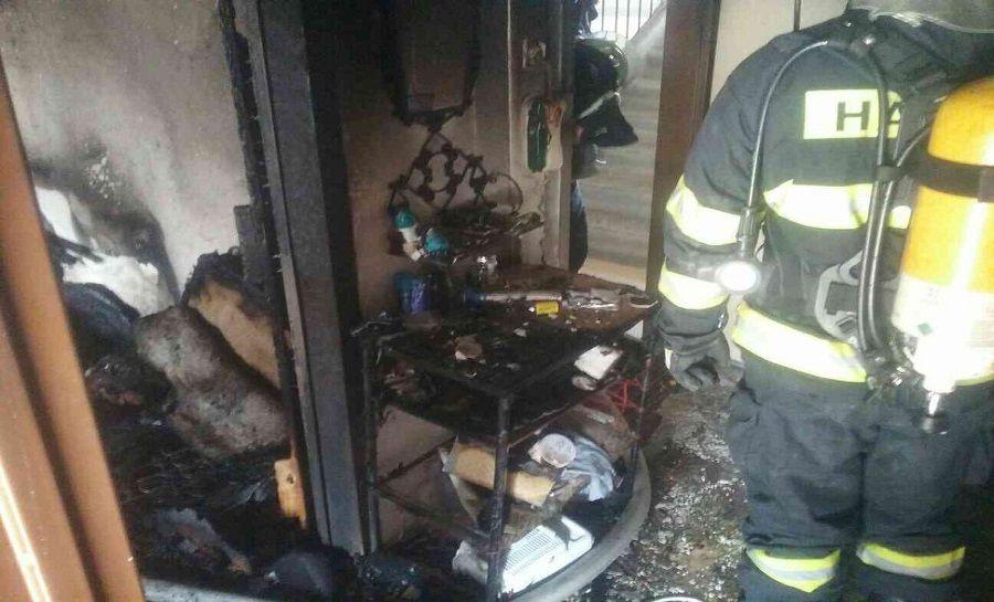 Požiar na Matuškovej ulici v Košiciach, foto 5