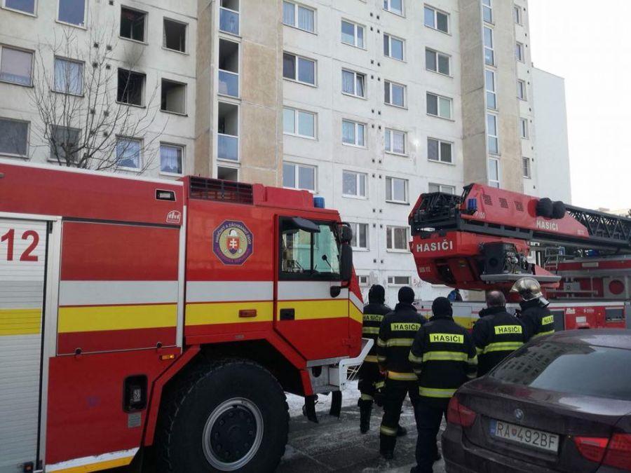 Požiar na Matuškovej ulici v Košiciach, foto 7