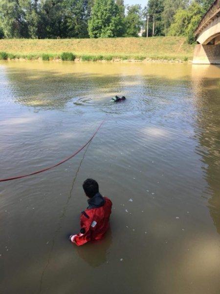 V Hornáde sa utopil 23-ročný muž, foto 1