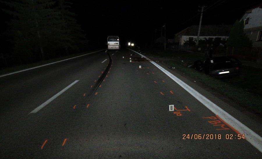 Dopravné nehody v Košickom kraji 22.- 24. júna 2018, foto 1