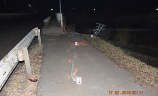 Dopravná nehodna pri obci Ždaňa