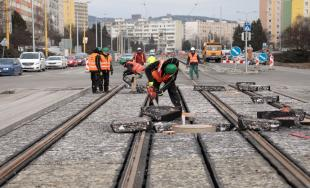 Modernizácia električkových tratí v Košiciach 22.2.2018