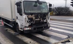 Dopravná nehoda na rýchlostnej ceste Košice Pereš