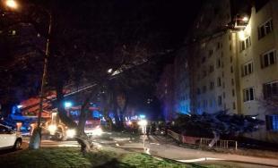 Požiar bytu na Obchodnej ulici v Košiciach