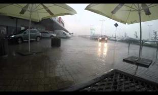 Búrka v Košiciach 17.07.2015