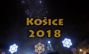 Novoročný ohňostroj v Košiciach 2018